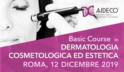 Basic Course in Dermatologia, Cosmetologia ed Estetica