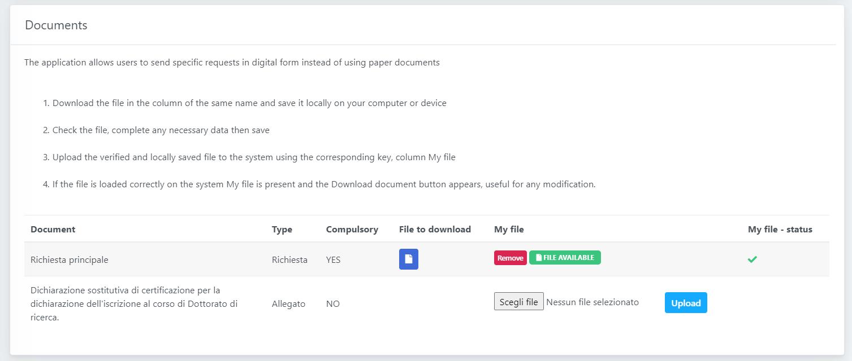 OpenStudio - HR Requests - Draft files management